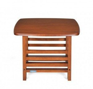 nilkamal legacy corner table dirty oak