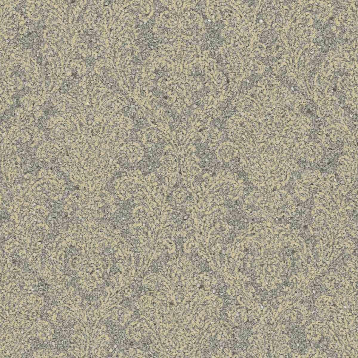 serendipity 2 classic damask natural - mica cork silk wall paper beige grey metallic sr210104
