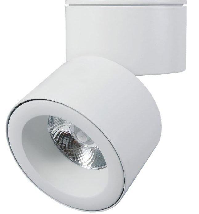 30w track light housing  black/white 360 degree