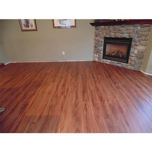 brown vinyl flooring