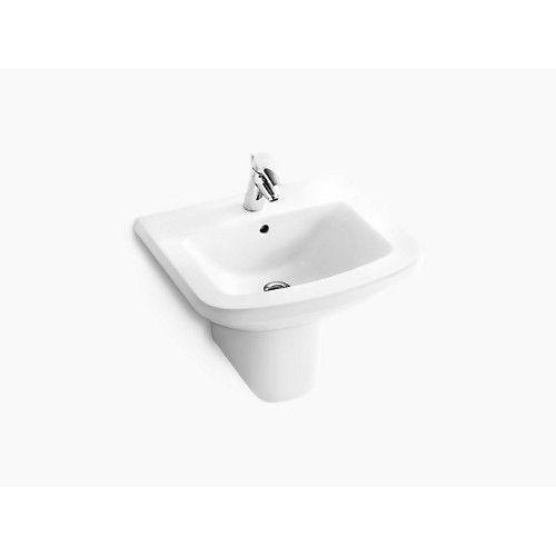 kohler pedestal basin panache k-17656k-00-white