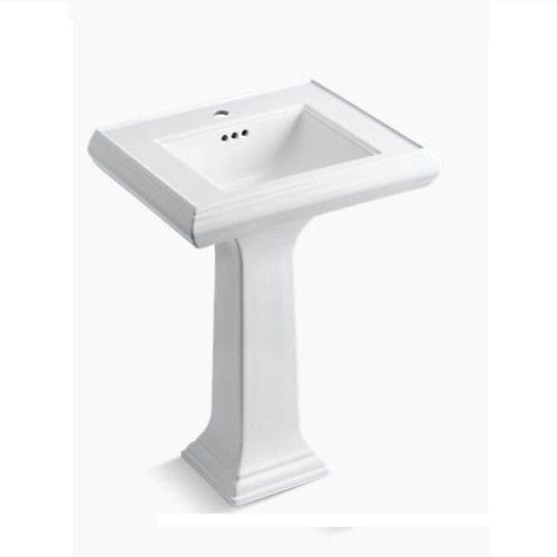 kohler pedestal basin memoirs k-2238t-1-0-white