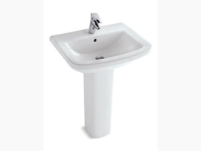 kohler pedestal basin panache k-17654k-00-white