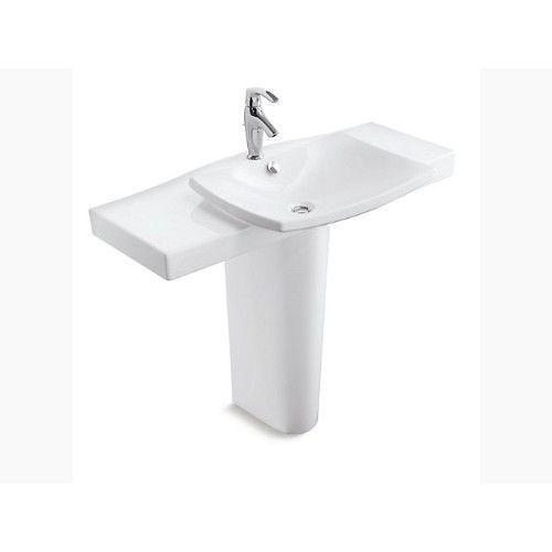 kohler pedestal basin escale k-19894w-00-white